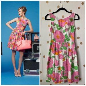 Kate Spade Sonja Floral Fit & Flare Dress